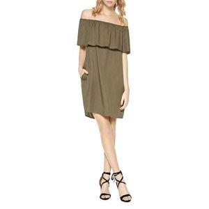 Sanctuary Womens Off-Shoulder Casual Dress $129